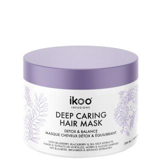 Маска для восстановления волос «Детокс и баланс» ikoo infusions Detox and Balance Deep Caring Hair Mask, 200 мл