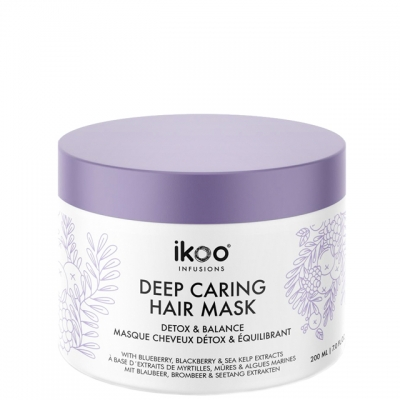 Маска для восстановления волос ikoo «Детокс и баланс», 200 мл