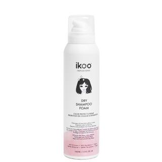 Сухой шампунь-пена «Восстановление и защита цвета» ikoo infusions Dry Shampoo Foam Color Protect and Repair, 150 мл