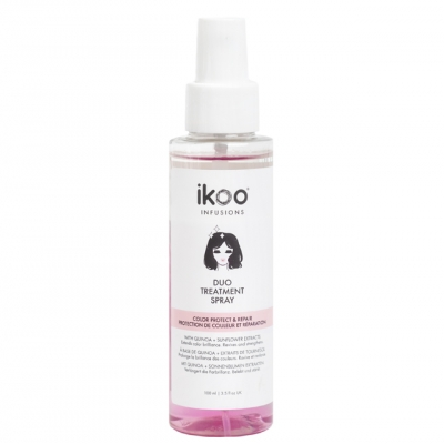Спрей для волос ikoo «Двойной уход. Восстановление и защита цвета», 100 мл