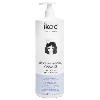 Шампунь для объема волос ikoo infusions Don't Apologize, Volumize, 1000 мл