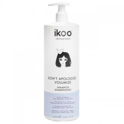 Шампунь для объема тонких волос ikoo Don't Apologize, Volumize, 1000 мл