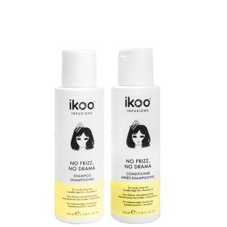Комплект ikoo Travel «Против пушистости»: шампунь и кондиционер