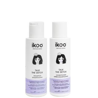Комплект ikoo Travel «Детокс»: шампунь и кондиционер