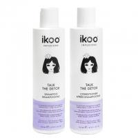 Комплект ikoo «Детокс»: шампунь и кондиционер