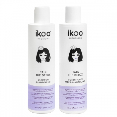 Комплект ikoo Duo «Детокс»: шампунь и кондиционер
