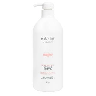 Шампунь против выпадения Scalp to Hair Moisture Rich — для толстых, окрашенных волос, 1000 мл