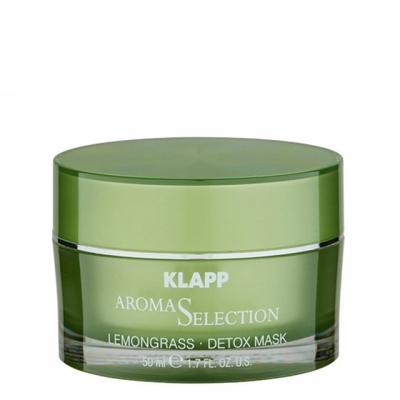 Маска-детокс «Лемонграсс» Klapp Aroma Selection Lemongrass Detox Mask, 50 мл
