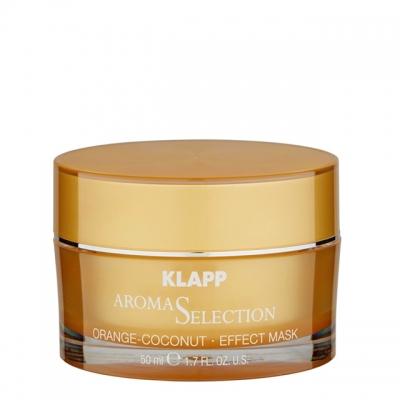 Питательная маска «Апельсин-Кокос» Klapp Aroma Selection Orange-Coconut Mask, 50 мл