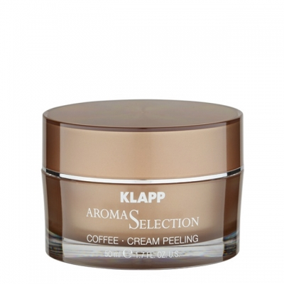 Крем-скраб «Кофе» Klapp Aroma Selection Coffee Cream Peeling, 50 мл