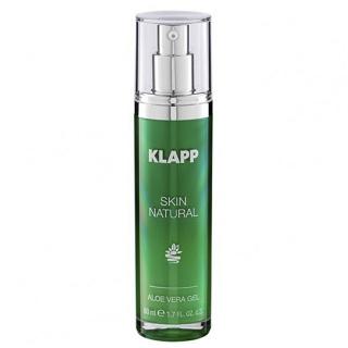 Высококонцентрированный гель с экстрактом алоэ вера Klapp Skin Natural Aloe Vera Gel, 50 мл