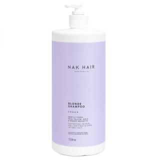 Шампунь «Блонд» NAK Blonde Shampoo — против желтизны, 1000 мл