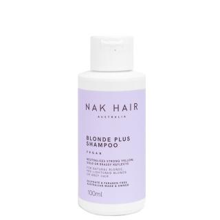 Шампунь «Блонд Плюс» NAK Blonde Plus Shampoo — против желтизны и медных оттенков, 100 мл