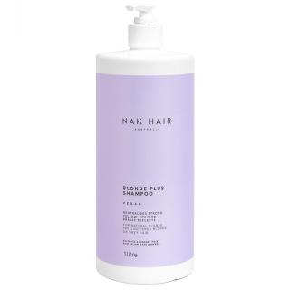 Шампунь «Платиновый блонд» против желтизны волос NAK Platinum Blonde Anti-Yellow Shampoo, 1000 мл