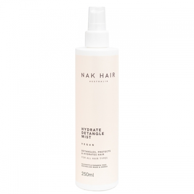 Спрей для увлажнения волос и легкого расчесывания NAK Hydrate Detangle Mist, 250 мл