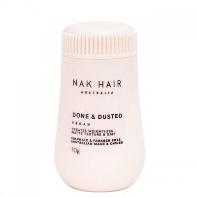 Матовая пудра для укладки волос NAK Done & Dusted, 10 г