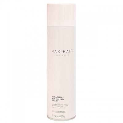 Лак для волос сильной фиксации NAK Fixation Finishing, 400 г