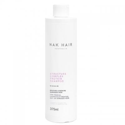 Протеиновый шампунь для восстановления волос NAK Structure Complex, 375 мл