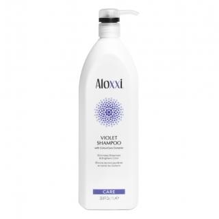 Шампунь для блондинок Aloxxi Violet — против желтизны, 1000 мл