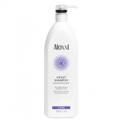 Шампунь Aloxxi Violet — против желтизны, 1000 мл