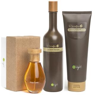 Комплект O'right «Укрепление и рост волос»: шампунь, кондиционер и тоник