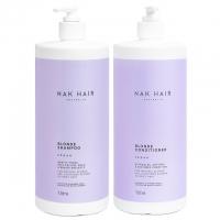 Комплект NAK Duo «Блонд XXL»: шампунь и кондиционер, 1000 мл