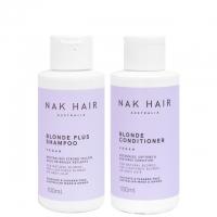 Дорожный комплект NAK «Блонд Плюс»: шампунь и кондиционер