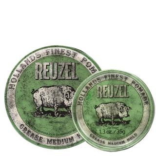 Комплект Reuzel Duo: две зеленые помады Reuzel средней фиксации