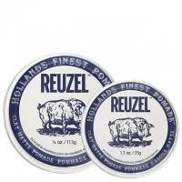 Комплект Reuzel Duo: две белые матовые глины-помады сильной фиксации
