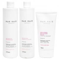 Комплект NAK Trio «Питание и увлажнение»: шампунь, кондиционер и маска