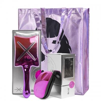 Набор расчесок в сумке Ooh La La Pops №34: для сушки и расчесывания волос