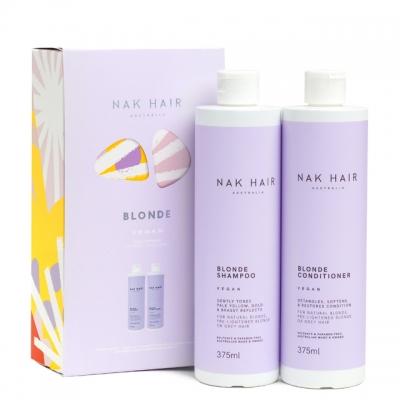 Набор NAK Duo «Блонд»: шампунь и кондиционер