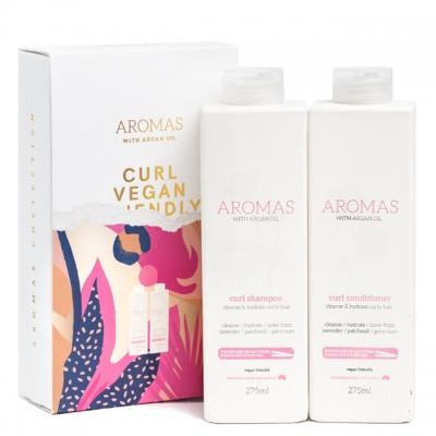 Набор Aromas Duo «Для вьющихся волос»: шампунь и кондиционер