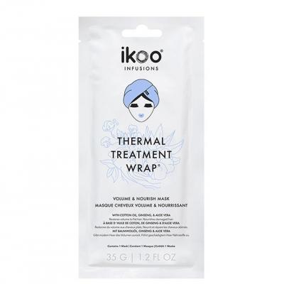 Маска-обертывание для волос ikoo infusions «Объем и питание», 35 г