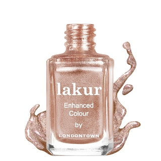 Лак для ногтей Londontown Lakur Enhanced Colour Rose Gold, 12 мл