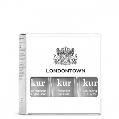 Набор Londontown Nourishing Mani: база, топ и масло для кутикулы