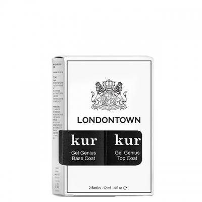 Набор Londontown Gel Like Set Duo: база и топ с гель-эффектом