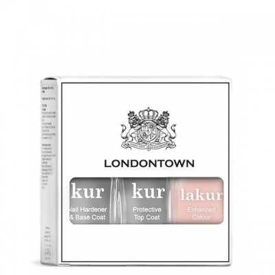 Набор Londontown Sheer Mani Set: база, топ и лак