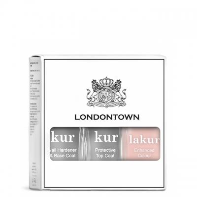 Набор Londontown Sheer Mani Set: база, топ и лак