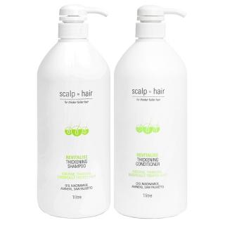 Комплект против выпадения Scalp to Hair Duo XXL для тонких окрашенных волос, 1000 мл