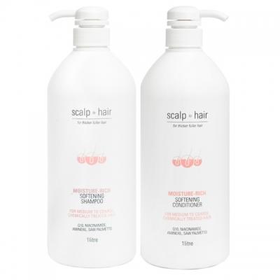 Комплект против выпадения Scalp to Hair Duo XXL для окрашенных волос, 1000 мл