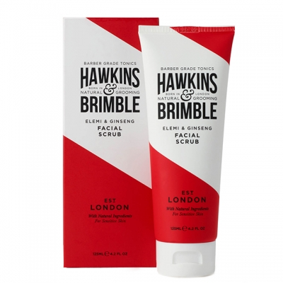 Скраб-прешейв для бритья Hawkins & Brimble Pre-Shave Facial Scrub, 125 мл