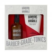 Набор для ухода за лицом Hawkins & Brimble Face Gift Set: крем и гель для умывания