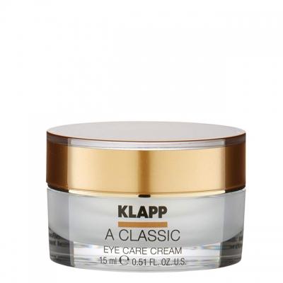 Крем для век «Витамин А» Klapp Vitamin A Classic Eye Care Cream, 15 мл