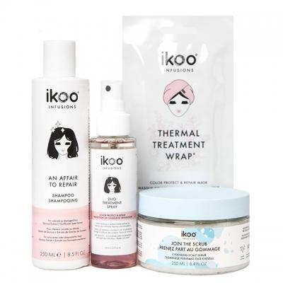 Комплект для СПА-процедуры ikoo «Экспресс-восстановление волос»