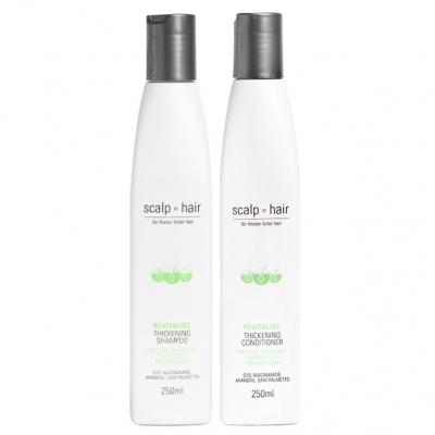 Комплект против выпадения Scalp to Hair Duo для тонких окрашенных волос