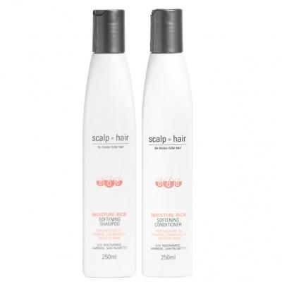 Комплект против выпадения Scalp to Hair Duo для окрашенных волос