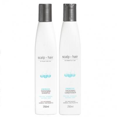 Комплект против выпадения Scalp to Hair Duo для натуральных и мужских волос