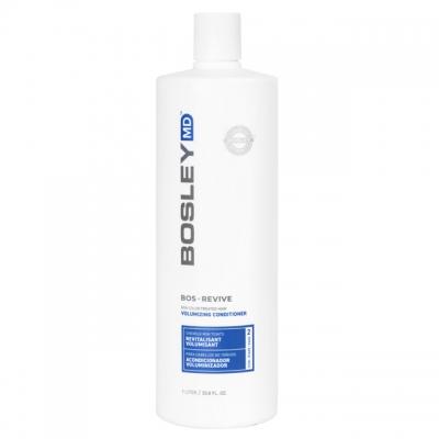 Кондиционер для укрепления редеющих волос Bosley MD — для неокрашенных, 1000 мл