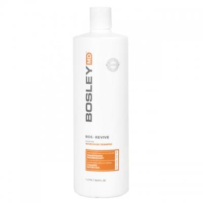 Питательный шампунь против выпадения редеющих волос Bosley MD — для окрашенных, 1000 мл
